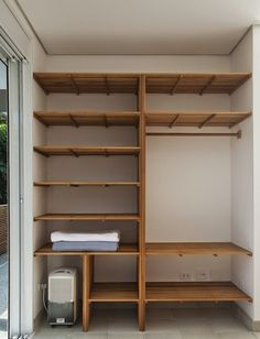 Get ready to renovate your laundry room with this simple to craft wood pallets wardrobe plan. This wooden project will make the tasks of your laundry quick and easy for you. Now you can easily store the clothes of your family members in different portions and can easily take them for washing separately. #pallets #woodpallet #palletfurniture #palletproject #palletideas #recycle #recycledpallet #reclaimed #repurposed #reused #restore #upcycle #diy #palletart #pallet #recycling #upcycling