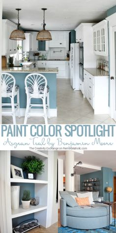 Aegean Teal by Benjamin Moore is one of the best rich teal paint colors out there, balancing warm and cool tones perfectly. Read more to learn why you should give this versatile transitional paint color a try!