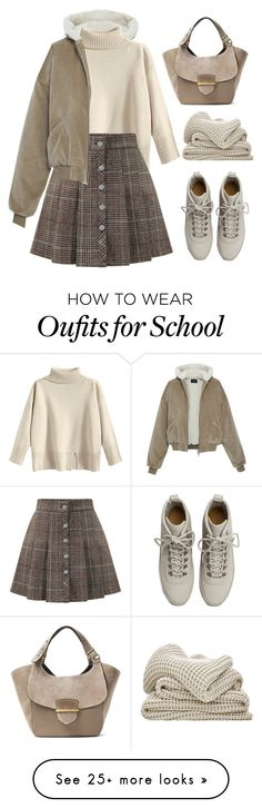 """boring school day"" by nuts-in-the-bar on Polyvore featuring WithChic, Fear of God and Michael Kors"