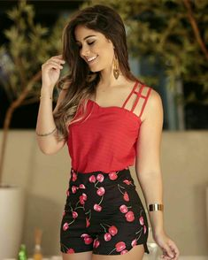Swans Style is the top online fashion store for women. Shop sexy club dresses, jeans, shoes, bodysuits, skirts and more. Fall Outfits, Summer Outfits, Casual Outfits, Cute Outfits, Girl Fashion, Fashion Outfits, Womens Fashion, Vetement Fashion, Peplum Shirts