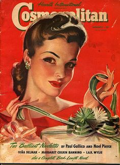 Cosmo magazine, 1941 Get a 2 Year Subscribtion to Cosmo FREE