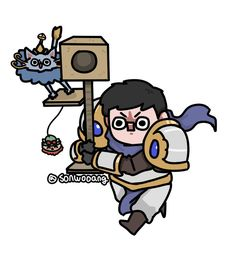 - Good afternoon - garen and yuumi (I will try to give properly credits to the artist as soon I know them) Not my art. Lol League Of Legends, League Of Legends Boards, League Of Legends Video, League Of Legends Characters, Desenhos League Of Legends, Liga Legend, Comic Anime, League Memes, Barakamon