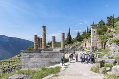 Αρχαιολογικός χώρος Δελφών.