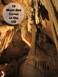 10 Must-See Caves in the US #caves #travel @goparks http://livedan330.com/2014/10/13/10-must-see-caves-us/