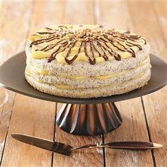 Old-Fashioned Poppy Seed Torte Recipe from Taste of Home