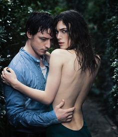 Keira Knightley and James McAvoy photographed by James White for Entertainment Weekly, 2008 English Actresses, Actors & Actresses, Hot Actors, James Mcavoy Atonement, Keira Christina Knightley, James White, Movie Tv, Sexy, Hollywood