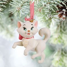 Sons and daughters of Disney (Disney) US official products Disney Marie Aristocats cat ornament Christmas tree ornament decoration capdase Marie Sketchbook Ornament toy store presents gifts birthday popular kids children adult man Disney Christmas Ornaments, Mickey Christmas, Hallmark Ornaments, Christmas Books, Pink Christmas, Cat Christmas Tree, Christmas Ideas, Xmas, Marie Aristocats