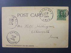 Spruce Oregon OR 1906 CDS Cancel Postmark Postcard DPO 1894-1907 RARE