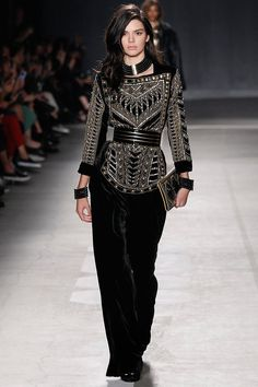 Balmain x H&M - Riffing on past runway hits, Olivier Rousteing's Balmain x H&M collaboration gave the designer's two million Instagram followers a chance to join his Balmain Army. And that they did, turning out in droves to shop the collaboration—and resell it on eBay for more than ten times the retail price.