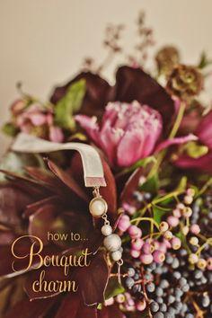 How to..Velvet Ribbon Bouquet Charm Tutorial
