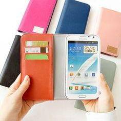 Faux-Leather Galaxy Note 2 Case from #YesStyle <3 iswas YesStyle.com