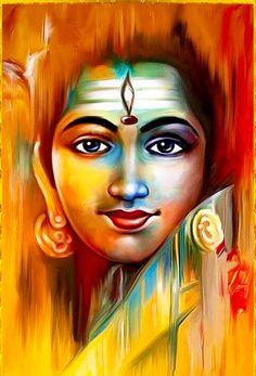 Shiva modern art