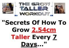 Some Natural Methods to Grow Taller Fast Tips To Increase Height, Good Health Tips, How To Grow Taller, Growth Mindset, Finding Yourself, Reading, Exercise, Fitness, Ejercicio