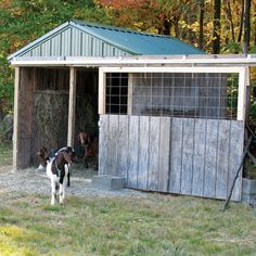 A reader shares how to build a barn using wood pallets and other recycled building materials.data-pin-do=