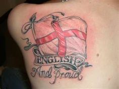 England Flag Tattoo,British Flag, Union Jack Flag