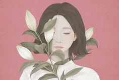 Ideas Design Visual Art Illustrations For 2019 Art And Illustration, Art Illustrations, Amazing Drawings, Amazing Art, Art Drawings, Art Anime Fille, Anime Art Girl, Korean Art, Asian Art