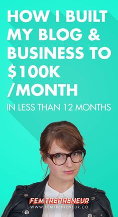2015 Business Review: How I Built My Blog and Business to $100k/month in Less Than a Year (Month By Month Breakdown) | Blogging tips | Business tips | Successful entrepreneur | Blogging success | Income report | Grow your business