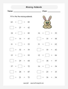 math worksheet : addition facts number bonds and math worksheets on pinterest : Remedial Math Worksheets
