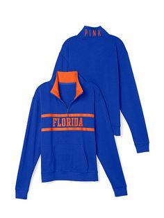 University of Florida Boyfriend Half Zip PINK