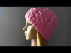 How To Knit A Cable Hat, Lilu's Handmade Corner Video # 6 - YouTube