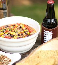 Bean and Corn Salsa from the blogHomes.com: Tailgating Recipes