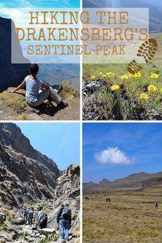 The hike up Sentinel Peak in the Drakensberg Mountains of South Africa was not as easy-going as we thought but it truly was a rewarding experience. Travel Info, Travel Guides, Travel Tips, Hiking Spots, Hiking Trails, Africa Travel, Worlds Of Fun, Travel Around The World, Where To Go