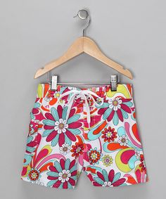 Pink Flower Power Boardshorts from Kanu Surf