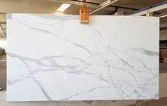 Highest quality and big size. Available also for cut to size projects! Statuario Marble, White Marble, Backsplash, Stone, Amazing, Projects, Color, Home Decor, Houses