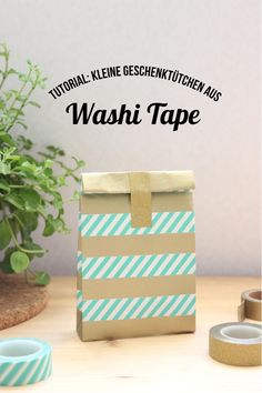 #WashiWoche auf danipeuss.de |Tutorial DIY Geschenktüte aus einem Briefumschlag und Washi Tape von Julia Reichert für www.danipeuss.de #danipeuss #scrapbooking #washitape #briefumschlag #envelope #diy #Bastelanleitung #Tutorial