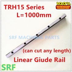 1pcs 15mm width Linear Guide Rail TRH L=1000mm(can cut any length) without Block CNC parts Linear Rail //Price: $30.63//     #storecharger