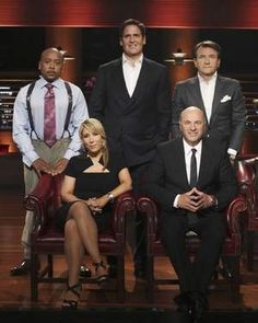 Shark Tank staff, making thousands into millions or even billions.