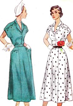 1950s Dress Pattern Simplicity 3281 Gored Skirt Day by paneenjerez, $18.00