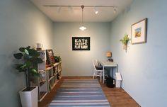 #レイククルーズはブルーグリーンのような明るいカラー! サーファーズスタイルが好きな方にはお勧めしたいカラーです。 子供部屋にもぴったり♪ #ヒッキーウォール #塗り壁 #内装塗り壁材 #カントリーベース #舶来土建 #石川県 #金沢市 #japan #ishikawa #kanazawa