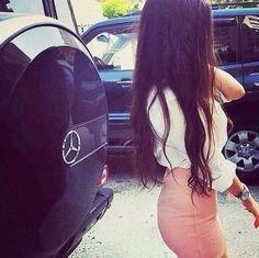 Long dark hair ❤️
