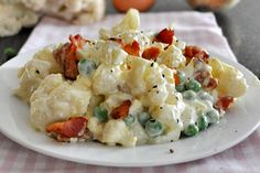 Cauliflower Salad // low carb version of potato salad via My Delicious Meals #picnic #summer #comfort