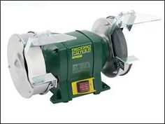 The Record Power Bench Grinder is a compact and heavy-duty design. Offering great performance from its smooth 370 Watt motor, this top quality grinder comes complete with practical features such as an adjustable resting tool and adjustable spark guards. Bench Grinder, Angle Grinder, Sds Hammer Drill, Workshop, Power Tools, Home Depot, Smooth, Hand Tools
