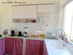 ATELIER CHERRY: Armários da cozinha - Faça você mesma