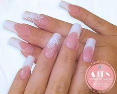 French nails, french manicure nails, my nails, wedding nails, short hair styles Marble Nail Designs, Elegant Nail Designs, Pretty Nail Designs, Nail Art Designs, Bride Nails, Wedding Nails, French Manicure Nails, Gel Nails, Photomontage