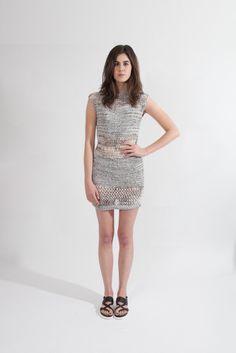 Young & Able Spring 2014 Emerging Designer  Ann Yee Cass Crochet Dress $487.50 www.shopyoungandable.com