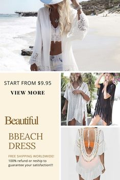 """Women Beach Dress. - Beach dress... one is not enough. - Special 10%off Coupon Code """"pins""""   - START FROM $9.95. - For hot Women #Women Dress #Summer Dress #Print Dress"""