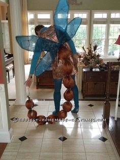 Awesome Dragonfly Couple Halloween Costume ... This website is the Pinterest of costumes
