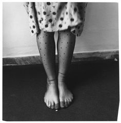 How strange for a photographer to be hiding in front of the camera, the way Francesca Woodman so often does. (Photo by Francesca Woodman,