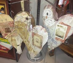 Altered Hanging Art - From My Hand to Yours (ranging from $25-$32)