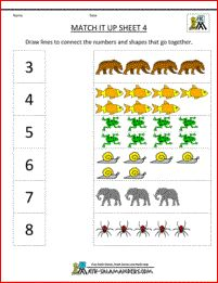 Looking for a Printable Math For Kindergarten. We have Printable Math For Kindergarten and the other about Benderos Printable Math it free. Nursery Worksheets, Printable Math Worksheets, Kindergarten Math Worksheets, Numbers Kindergarten, Preschool Math, Worksheets For Kids, Matching Worksheets, Free Printables, Maths