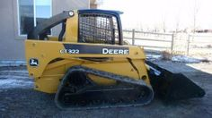 "2007 John Deere 322 Skid Steer -2007 John Deere crawler tracked skid steer loader with auxiliary attachment and 76"" bucket in good operating condition. It currently has less than 2000 hours. New paint job, block heater and also comes with a new set of tracks. It has been regularly serviced and maintained  - See more at: http://www.heavyequipmentregistry.com/heavy-equipment/10765.htm"