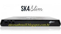 Decosat Brasil: Azsky Sk4 Slim Nova atualização de junho 25-06-14