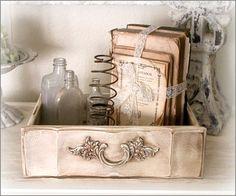 distressed drawer