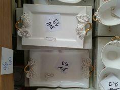 Luna gold 2 boy tepsi 34 cm 40 cm  hediyelik kutusunda orjinal porselen kargo yapilir