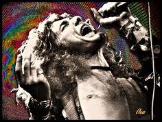 """Robert Plant """"Rainbow"""" Photoartist LisaKay Allen/PassionFeast"""