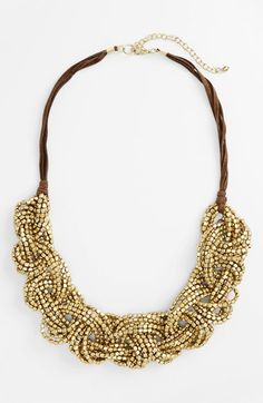Free shipping and returns on Nakamol Design 'Twist' Necklace at Nordstrom.com. Looping, ornate strands of shining metallic beads compose a stunning statement necklace with a twist.